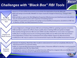 Considerations in Selection of RBI Tools