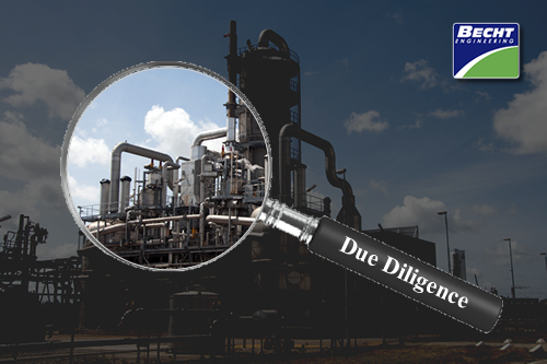Due Diligence – Front End Loading for Plant Acquisitions