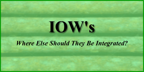 Integrity Operating Windows (IOWs), a Key Piece to Your Integrity Program, But Where Else Should They Be Integrated?