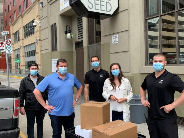 Mask donation to The Mustard Seed – Canada